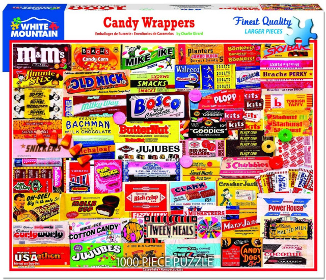Candy Wrappers Puzzle
