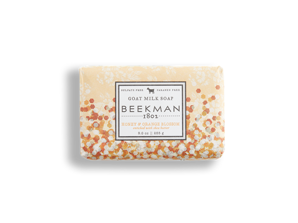 Honey & Orange Blossom Goat Milk Soap Bar