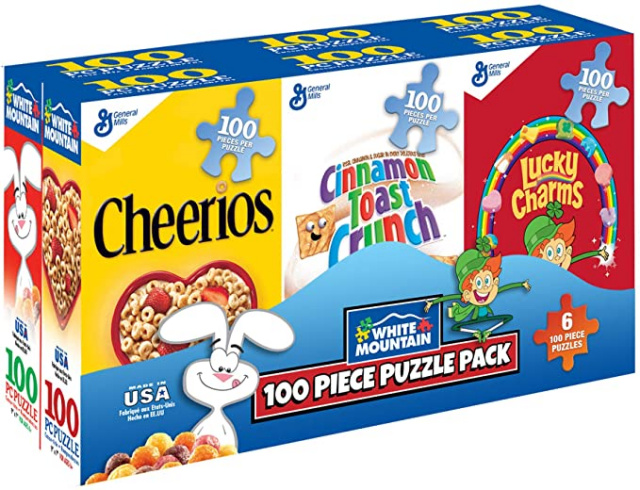 Cereal Box Puzzle Set