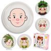 "girl ""food face"" plate"